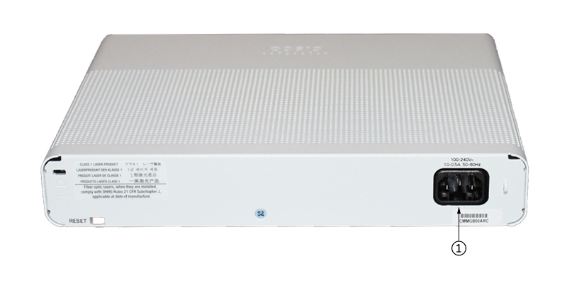 WS-C2960C-8TC-L back panel